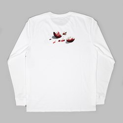 NIKE SB X CONCEPTS 'UGLY SWEATER' LS TEE WHITE