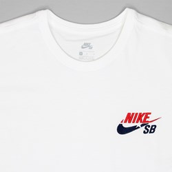 NIKE SB X FUTURA 'COURT PACK' T-SHIRT WHITE
