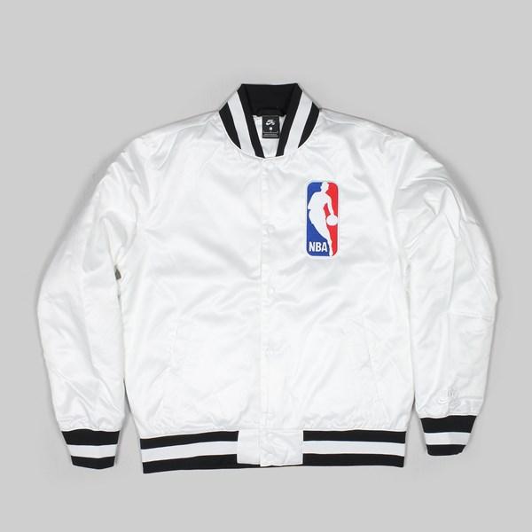online store 233f7 047c6 NIKE SB X NBA BOMBER JACKET WHITE WHITE