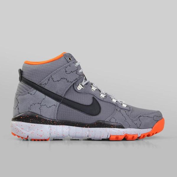 sports shoes 99a40 467a9 NIKE SB X POLER DUNK HI R R DARK GREY BLACK