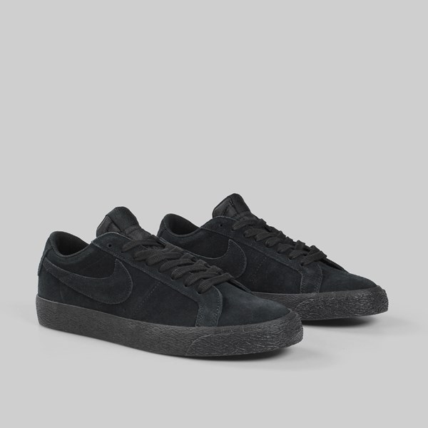 NIKE SB ZOOM BLAZER LOW BLACK BLACK GUNSMOKE