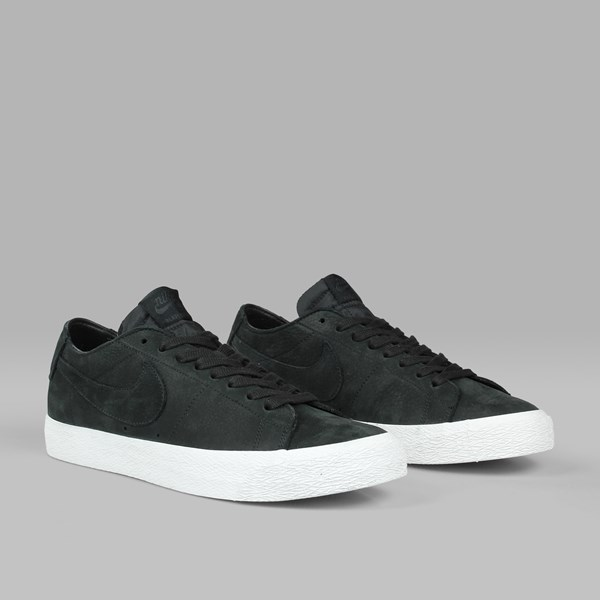 NIKE SB ZOOM BLAZER LOW DECONSTRUCTED BLACK BLACK