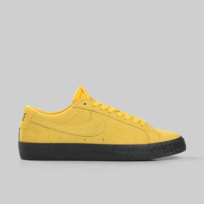 NIKE SB ZOOM BLAZER LOW YELLOW OCHRE BLACK