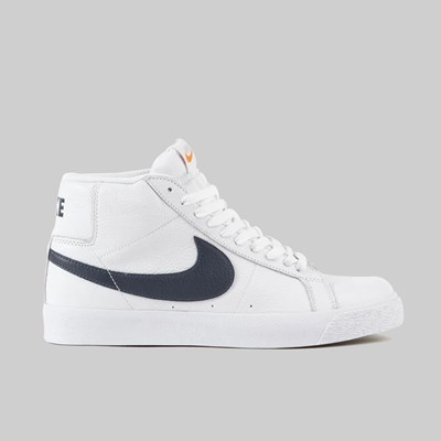NIKE SB ZOOM BLAZER ISO 'ORANGE LABEL' WHITE NAVY