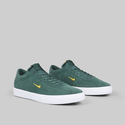 NIKE SB ZOOM BRUIN ULTRA MIDNIGHT GREEN YELLOW OCHRE