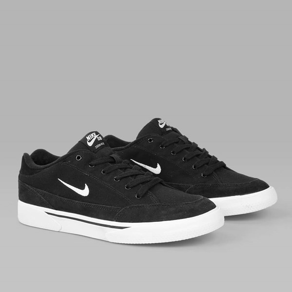 NIKE SB ZOOM GTS	 BLACK WHITE