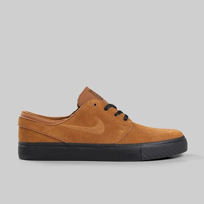 NIKE SB ZOOM STEFAN JANOSKI LIGHT BRITISH TAN BLACK