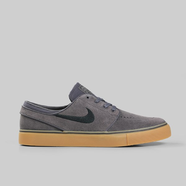 huge selection of 03f85 44f72 NIKE SB ZOOM STEFAN JANOSKI THUNDER GREY BLACK GUM