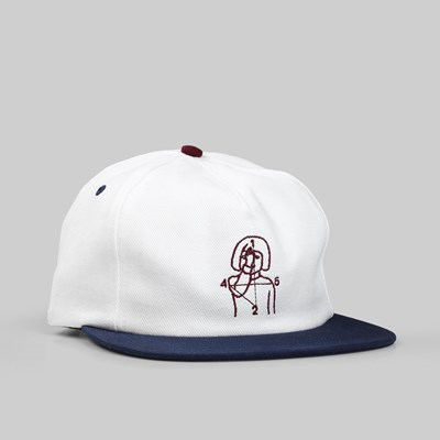 NUMBERS 12:45 ANGEL 5 PANEL CAP OFF WHITE