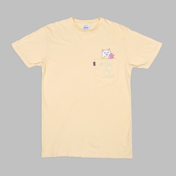 RIP N DIP NERMCASSO SS T-SHIRT YELLOW