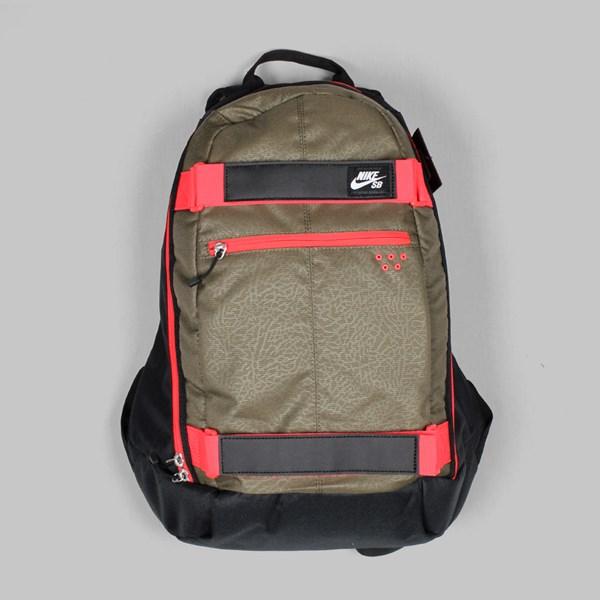 47a75967d292 Nike SB Embarca Backpack Black Fieldstone Iron