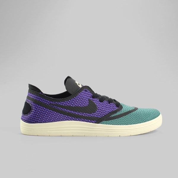 online store 17b36 b021f Nike SB Lunar Oneshot RR Trainers Crystal Mint Black Hyper Grape