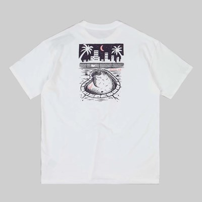 NIKE SB MIDNIGHT SS T-SHIRT WHITE