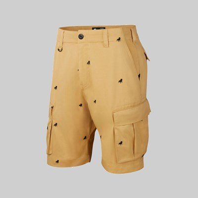 NIKE SB KEVIN BRADLEY ORANGE LABEL SHORT CLUB GOLD