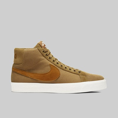 NIKE SB BLAZER MID OSKI 'ORANGE LABEL' MUTED BRONZE SENNA