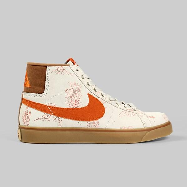 Nike SB X Poler Blazer Premium Lt Brown Tuscan Rust  74c1d20d6f39