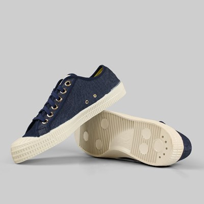 Novesta Footwear Star Master Navy Denim