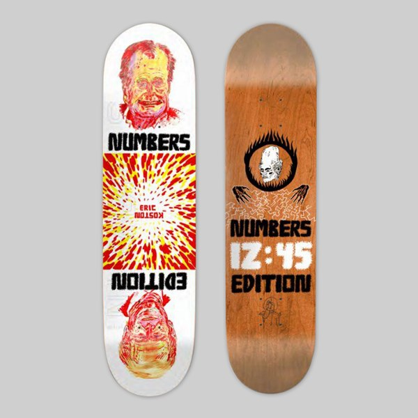 NUMBERS ERIC KOSTON EDITION 4 DECK 8.5""