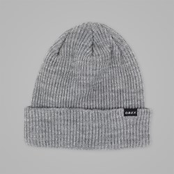 OBEY ACACIA BEANIE HEATHER GREY