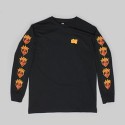 OBEY BE MINE LONG SLEEVE TEE BLACK