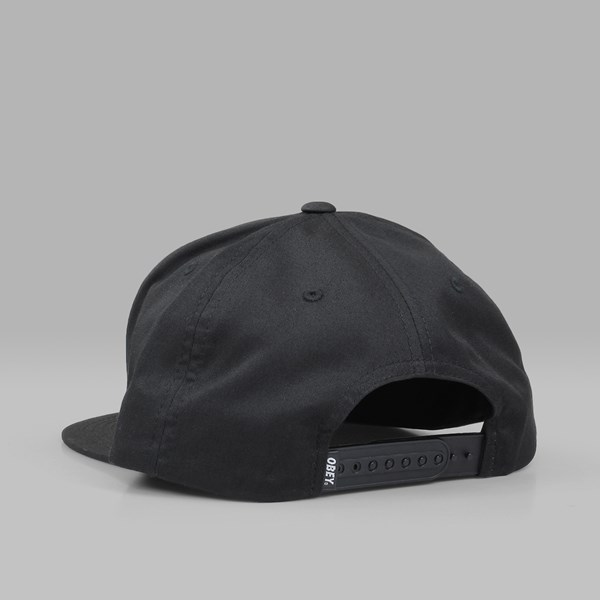 OBEY CLASSIC PATCH SNAPBACK BLACK