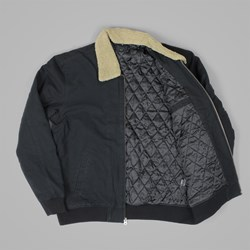 OBEY CLUBBER JACKET BLACK