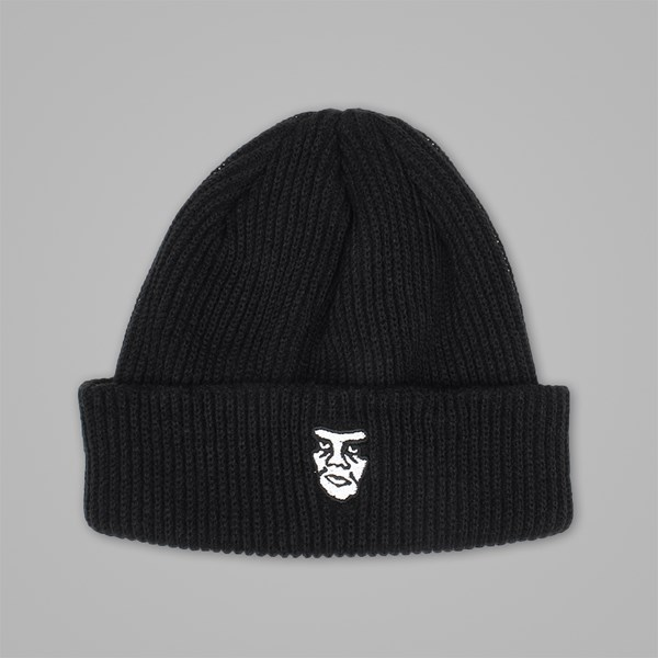 OBEY CREEPER BEANIE BLACK