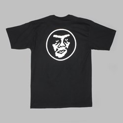 OBEY CREEPER CIRCLE SS TEE BLACK