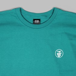 OBEY CREEPER CIRCLE SS TEE TEAL