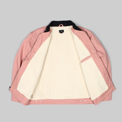 OBEY DILLINGER TRUCKER JACKET ROSE
