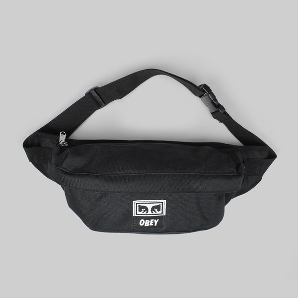 a24ae86ade OBEY DROP OUT SLING BAG BLACK