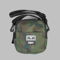 OBEY DROP OUT TRAVELER BAG FIELD CAMO