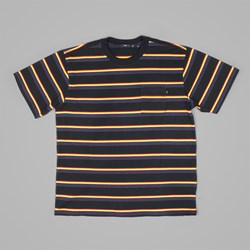 OBEY ECKFORD BOX POCKET T-SHIRT BLACK MULTI
