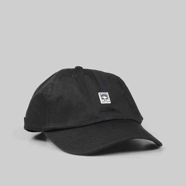 OBEY EIGHTY NINE 6 PANEL CAP BLACK  86a69558b84