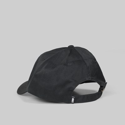 OBEY EIGHTY NINE 6 PANEL CAP BLACK