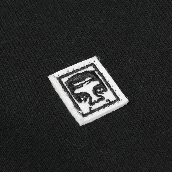 OBEY EIGHTY NINE ICON CREW BLACK