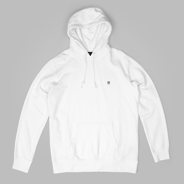 OBEY EIGHTY NINE ICON PULLOVER HOOD WHITE