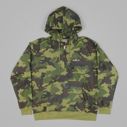 OBEY ENNET ANORAK PULLOVER JACKET CAMO