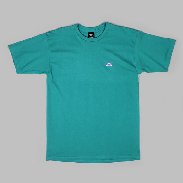 OBEY FLASHBACK SS TEE TEAL