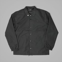 OBEY HIGHLINE COACHES JACKET BLACK