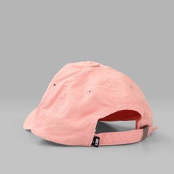 OBEY JUMBLE BAR HAT II 6 PANEL HAT ROSE