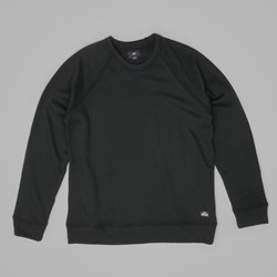 OBEY LOFTY CREATURE COMFORT CREWNECK BLACK