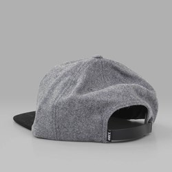 OBEY NINETEEN EIGHTY NINE 6 PANEL CAP HEATHER GREY-BLACK