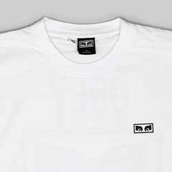 OBEY NO ONE SS T-SHIRT WHITE
