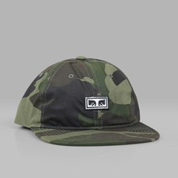 OBEY OVERTHROW 6 PANEL CAP SNAPBACK CAMO