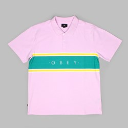 OBEY PALISADE POLO PINK