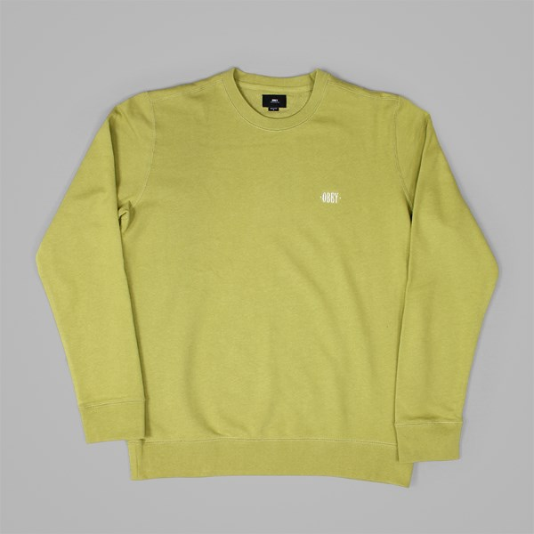 OBEY PARK CREW FLEECE WILLOW