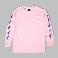 OBEY PASSION LONG SLEEVE TEE PINK