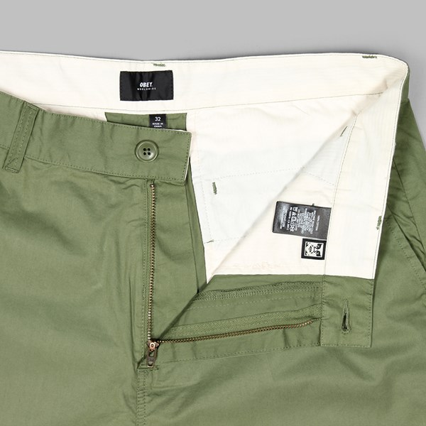 OBEY STRAGGLER SHORT LIGHT ARMY