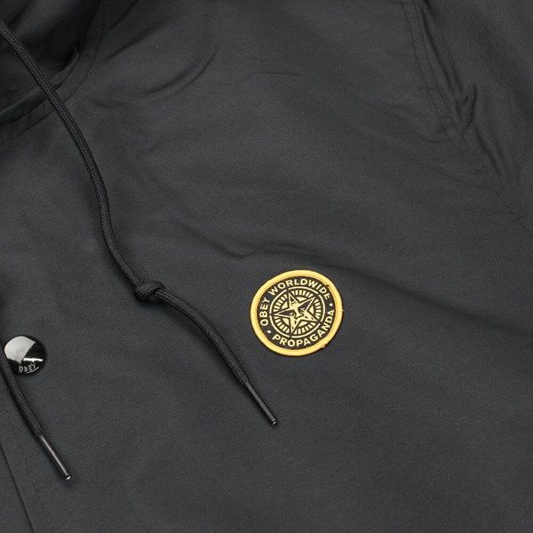 OBEY SUBLIMINAL JACKET BLACK